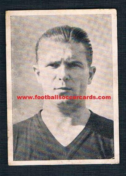 1954 Kiddy Gum Ferenc Puskas Hungary sticker WM54 WC54 rookie